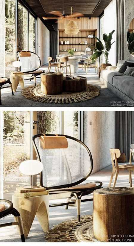 Interior Scene Sketchup by NguyenDucTrung