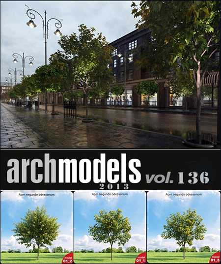 Max Evermotion Archmodels vol 136