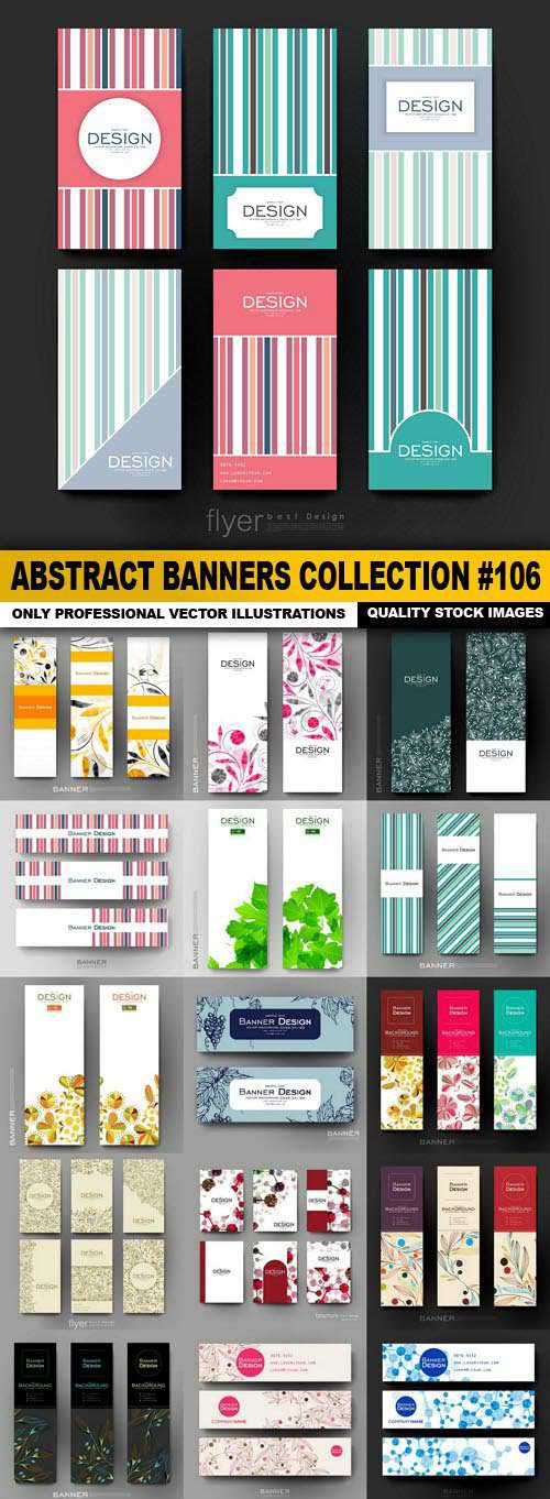 Abstract Banners Collection #106