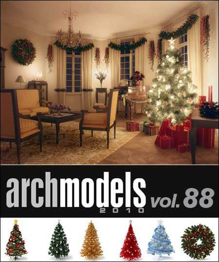 Max  Evermotion Archmodels vol 88
