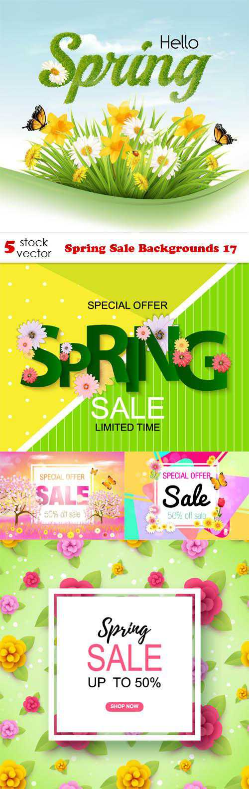 Spring Sale Backgrounds 17