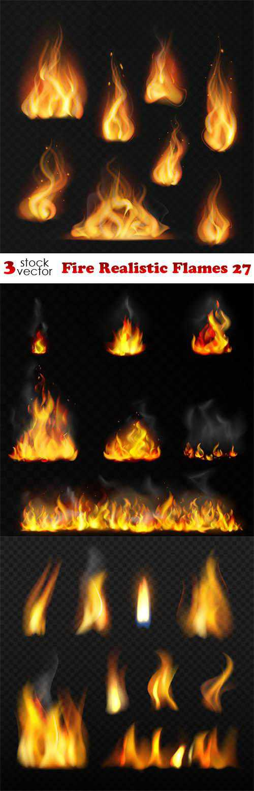 Fire Realistic Flames 27