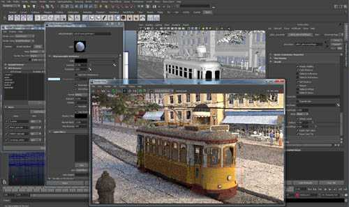 Solid Angle Maya To Arnold v3.2.0.2 For Maya 2017-2019 Win/Mac/Lnx