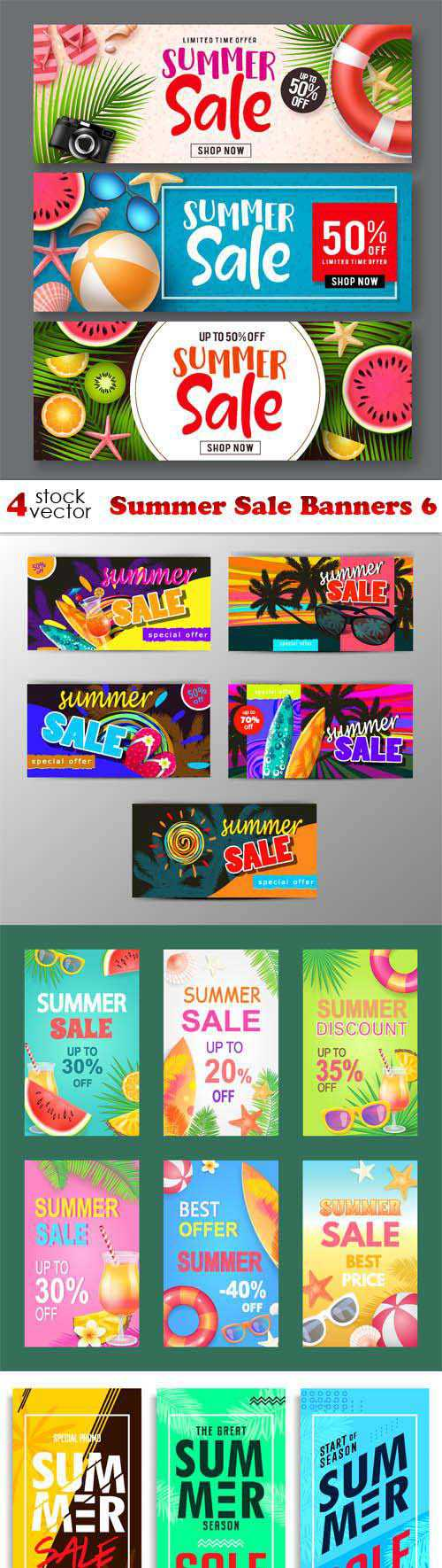 Summer Sale Banners 6