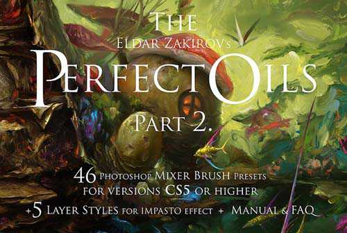 Cubebrush – The Perfect Oils. Part 2 – 46 Mixer Brushes