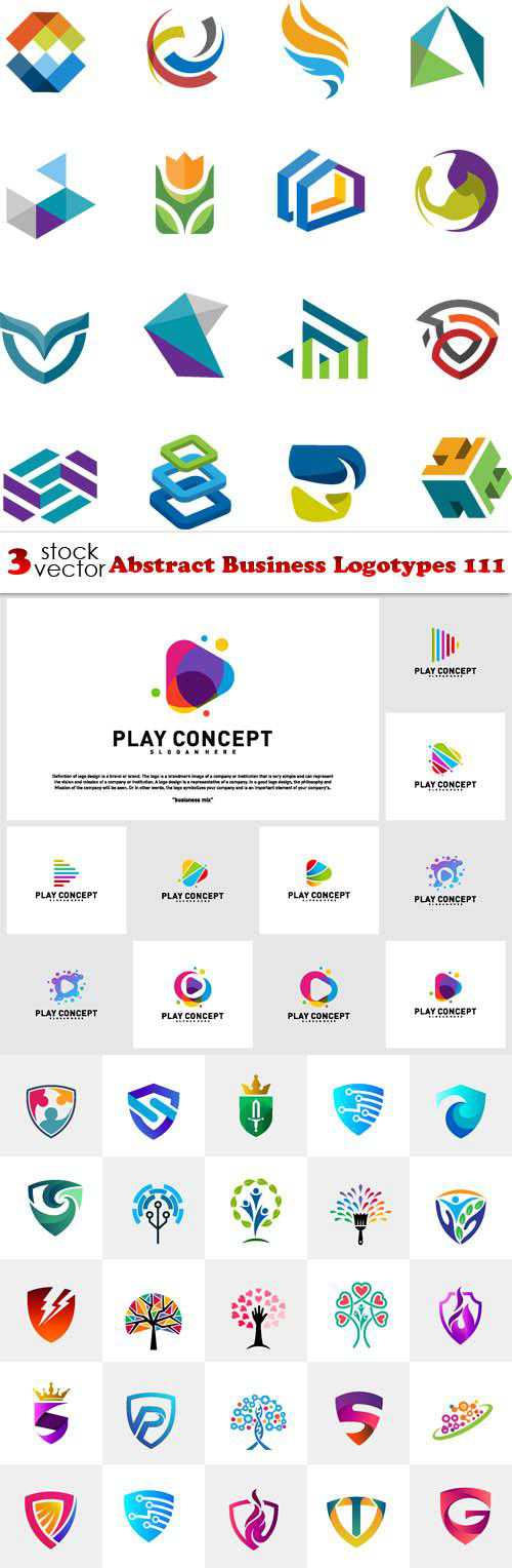 Abstract Business Logotypes 111