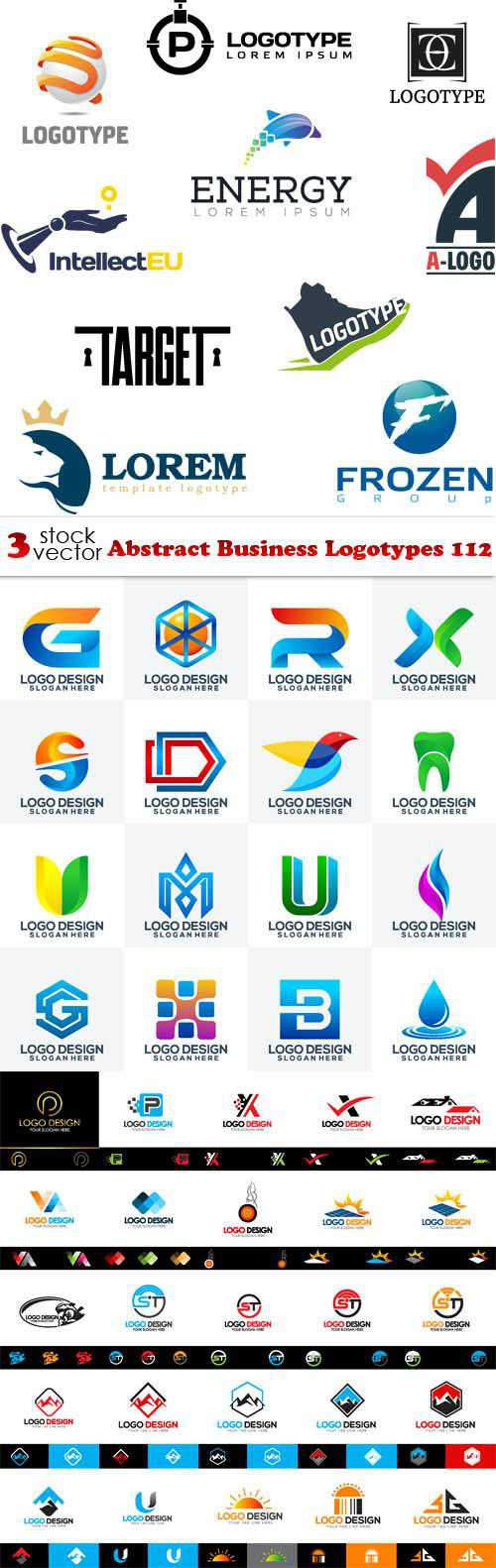 Abstract Business Logotypes 112