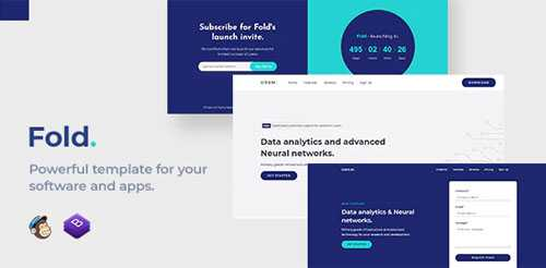 Fold – Software and App Template