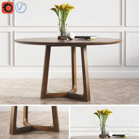 Concorde Round Dinning Table Poliform