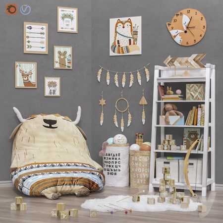 Toys and furniture (2 options) set 29