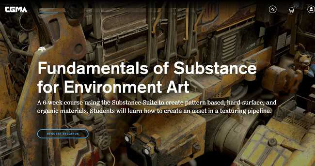CGMA – Intro to Substance for Environment Art with Ben Keeling