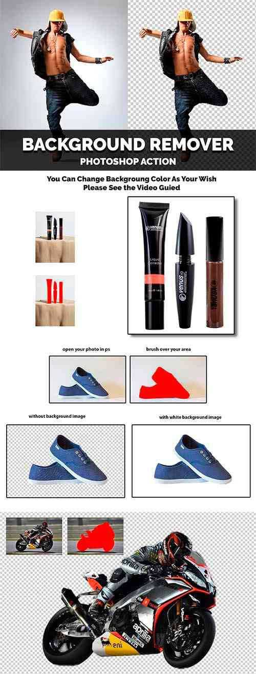 Background Remover Photoshop Action 4470150