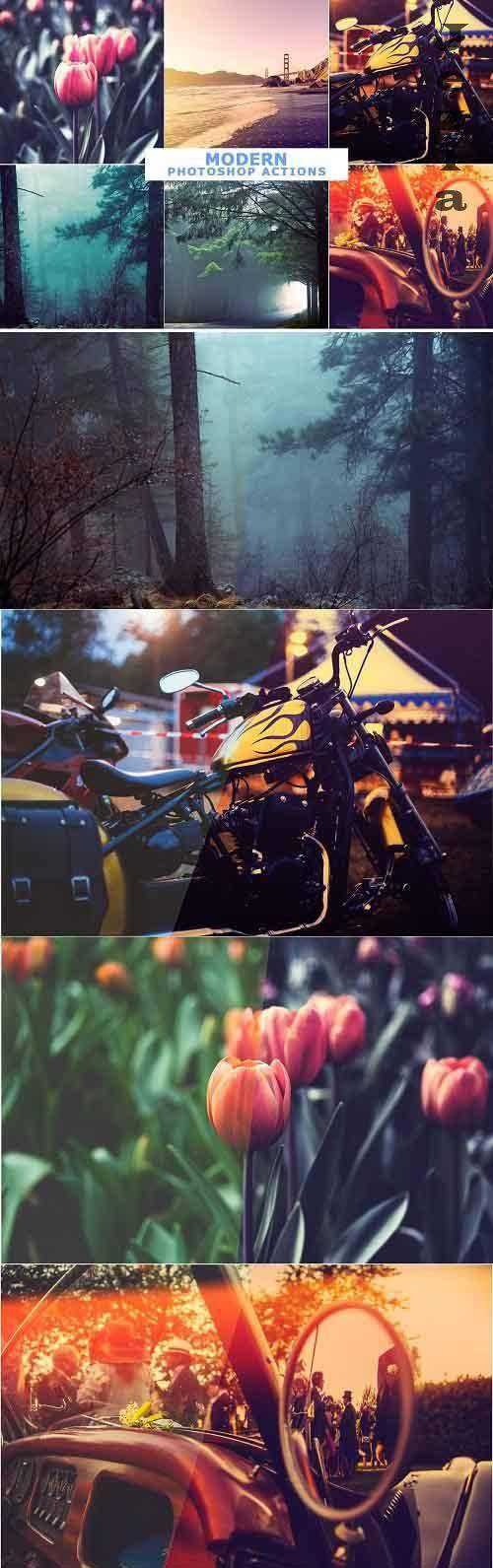 40 Modern Photoshop Actions 1 – 4642311
