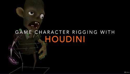 Udemy – Game Character Rigging with Houdini