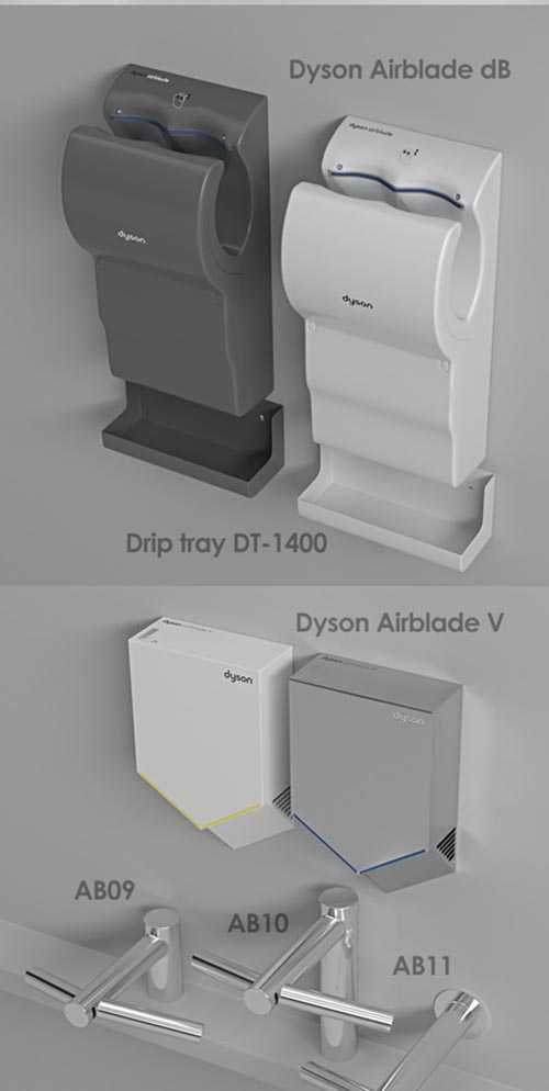 Dyson Airblade Hand dryers