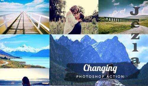 06 Changing – Photoshop Action