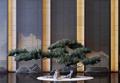 New Chinese welcome pine ornaments