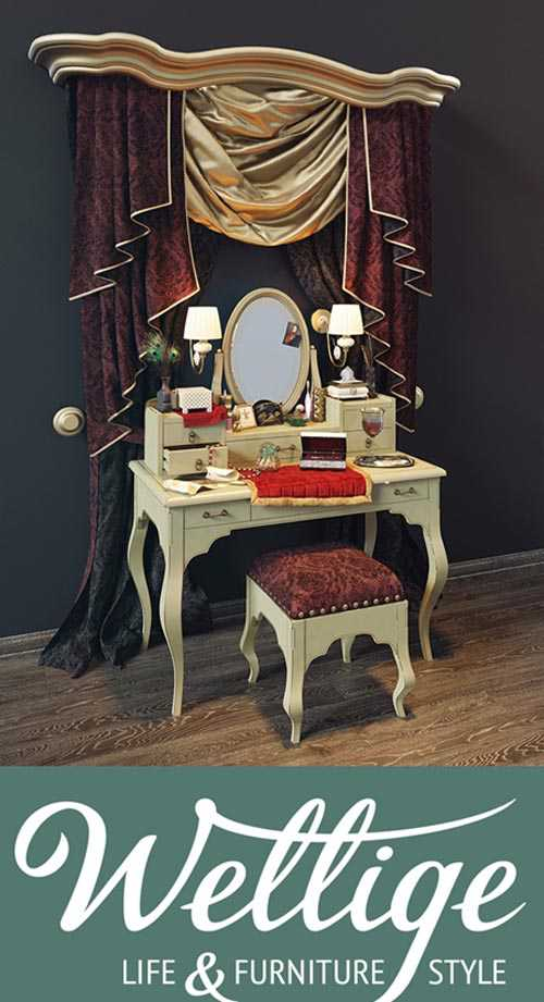 Wellige Juliet dressing table Juliette dressing table