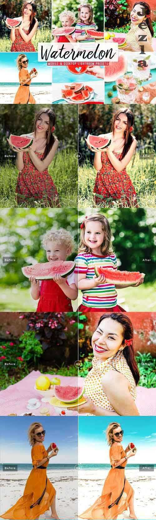 Watermelon Pro Lightroom Presets – 5426930 – Mobile & Desktop