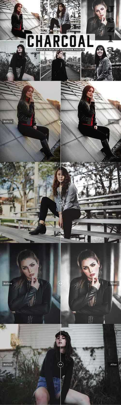 Charcoal Pro Lightroom Presets – 5423667 – Mobile & Desktop
