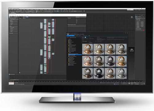 SIGERSHADERS XS Material Presets Studio v2.5.0 for 3ds Max 2013 – 2021 Update Only