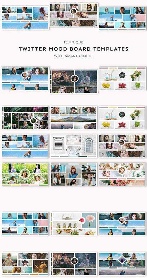 CM – 15 Twitter Mood Board Templates 1653279