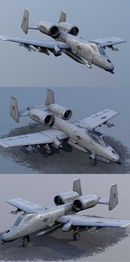 A-10 Thunderbolt Attack Aircraft