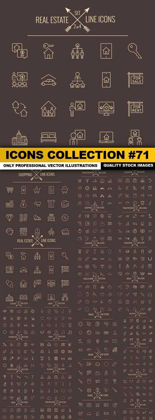 Icons Collection Set 71