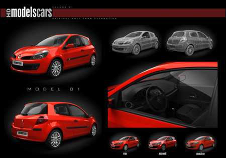 Evermotion HDModels Cars vol 1