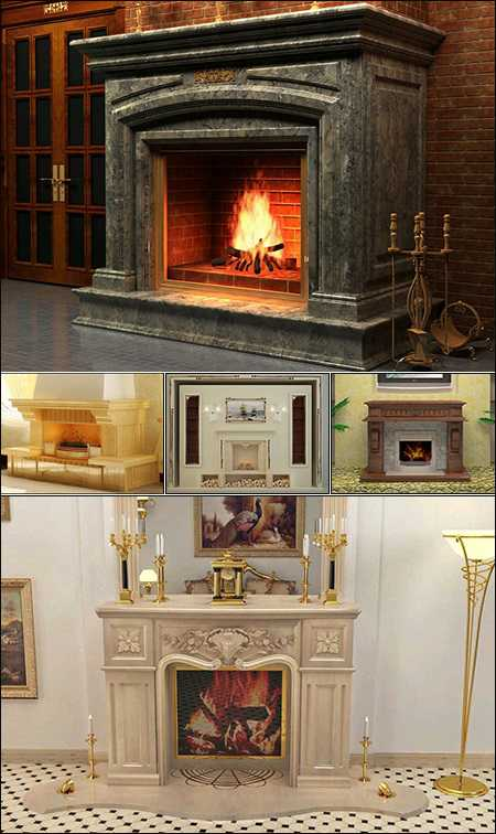 Max Classic Fire Place & Radiator