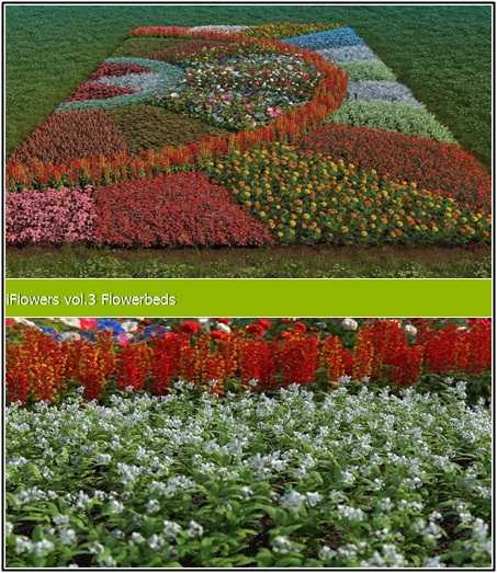 Max R&D Group iFlowers vol 3 Flowerbeds
