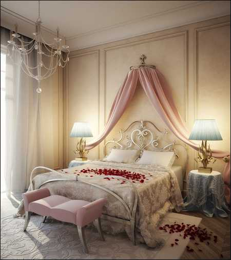 Max Viscorbel Romantic bedroom