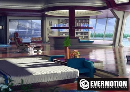 Evermotion Sci-fi Interior