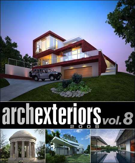 Max Evermotion Archexteriors vol 08