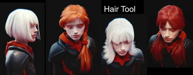 Gumroad – Hair Tool v2.0.10 for Blender 2.8