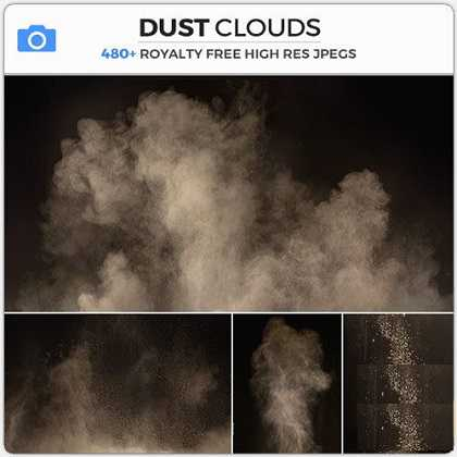 Photobash – Dust Clouds