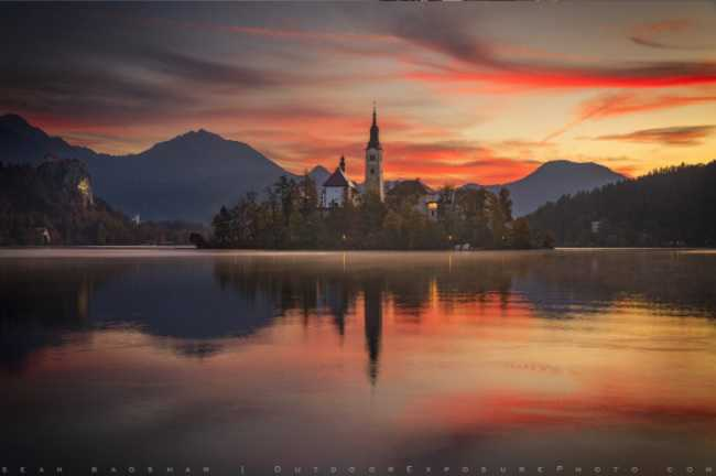 Outdoor Exposure Photo – Lake Bled