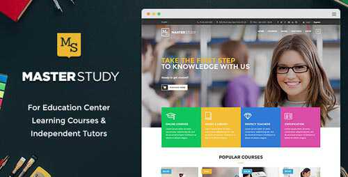 ThemeForest - Masterstudy v1.9.1 - Education WordPress Theme for Learning, Training and Education Ce...