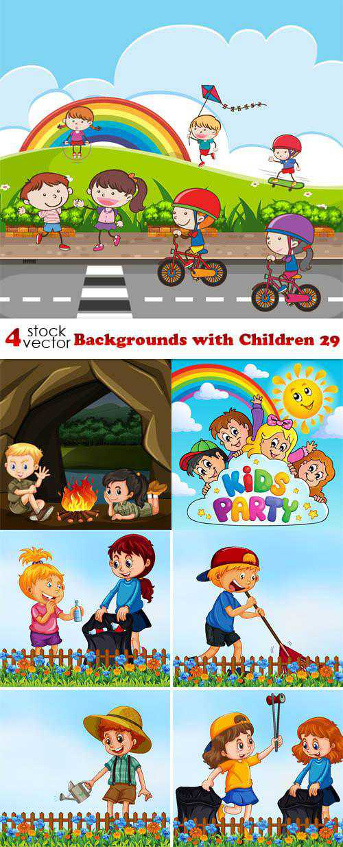 Backgrounds with Children 29