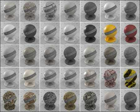 Max Vismat Material Collection for Sketchup