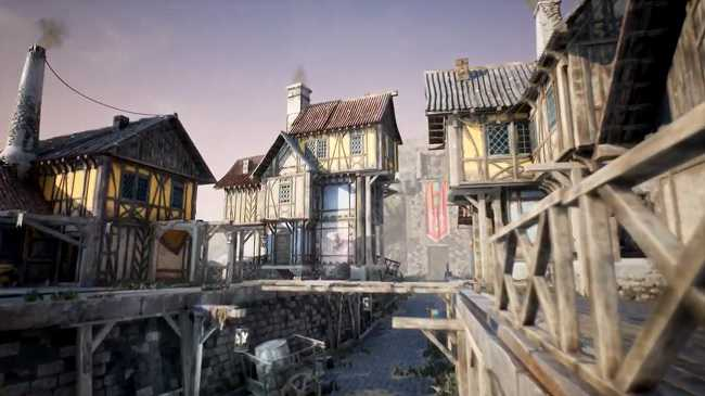 Unreal Engine Marketplace – Fantasy and Medieval Architecture Kit