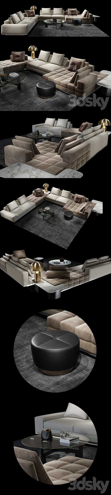 Minotti Lawrence Clan Set