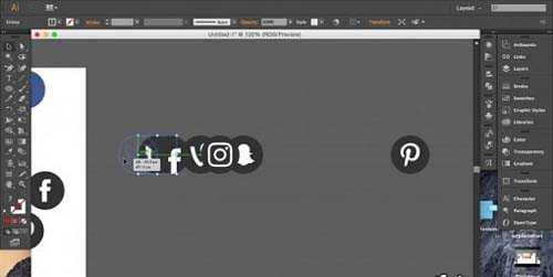 Tutorials Create your own Set of Social Media Vector Icons with Adobe Illustrator
