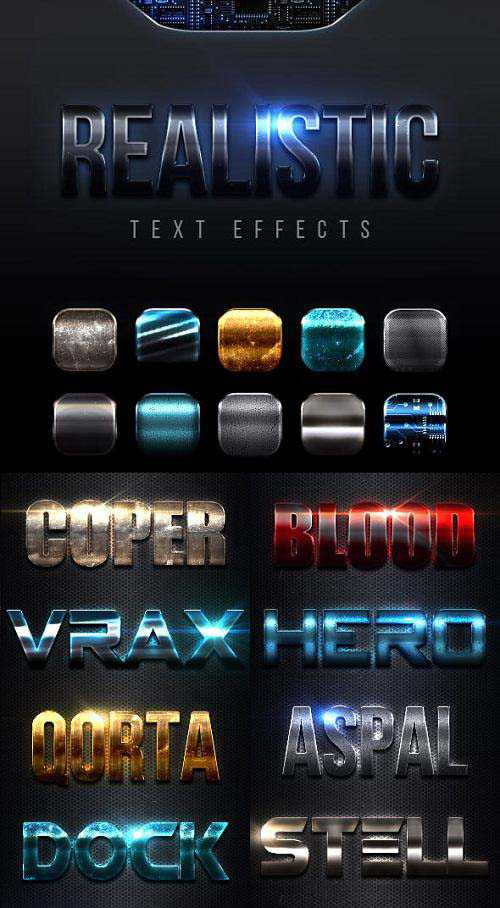 Realistic Text Effects Vol.10 23076658