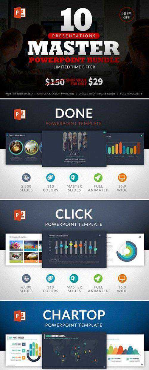 10 Master Powerpoint Bundle