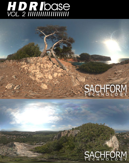 Max  SachForm Technology HDRIbase Vol 2 Spherical Panoramas