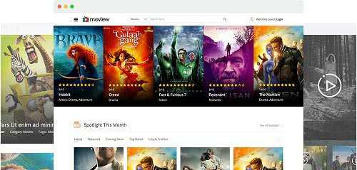JoomShaper – Moview v2.1 – Movie Database & Review Joomla Template
