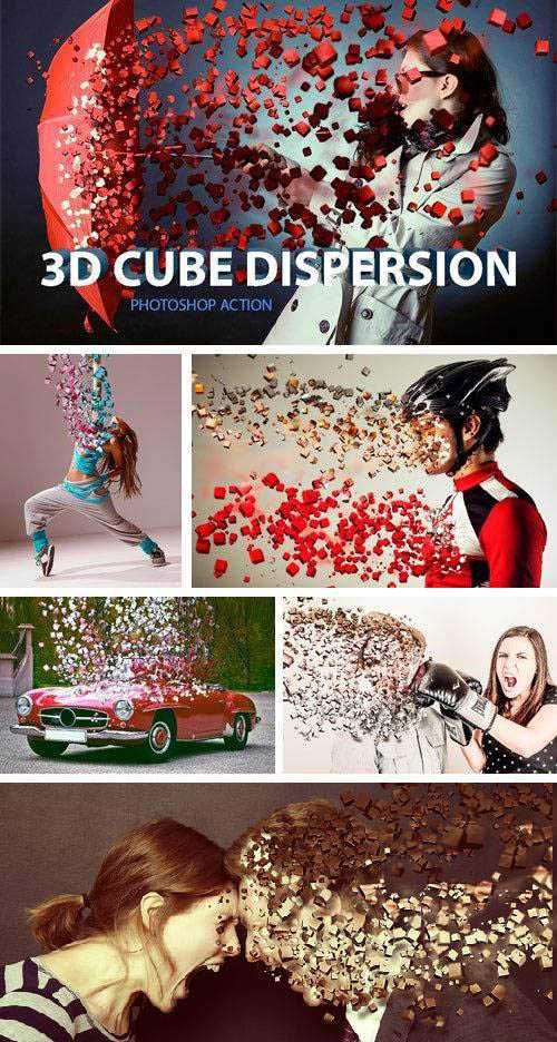 3D Cube Dispersion – 1002053