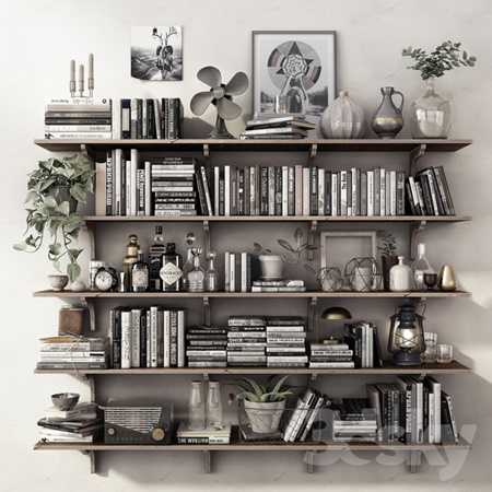 DECOR SET SHELVES