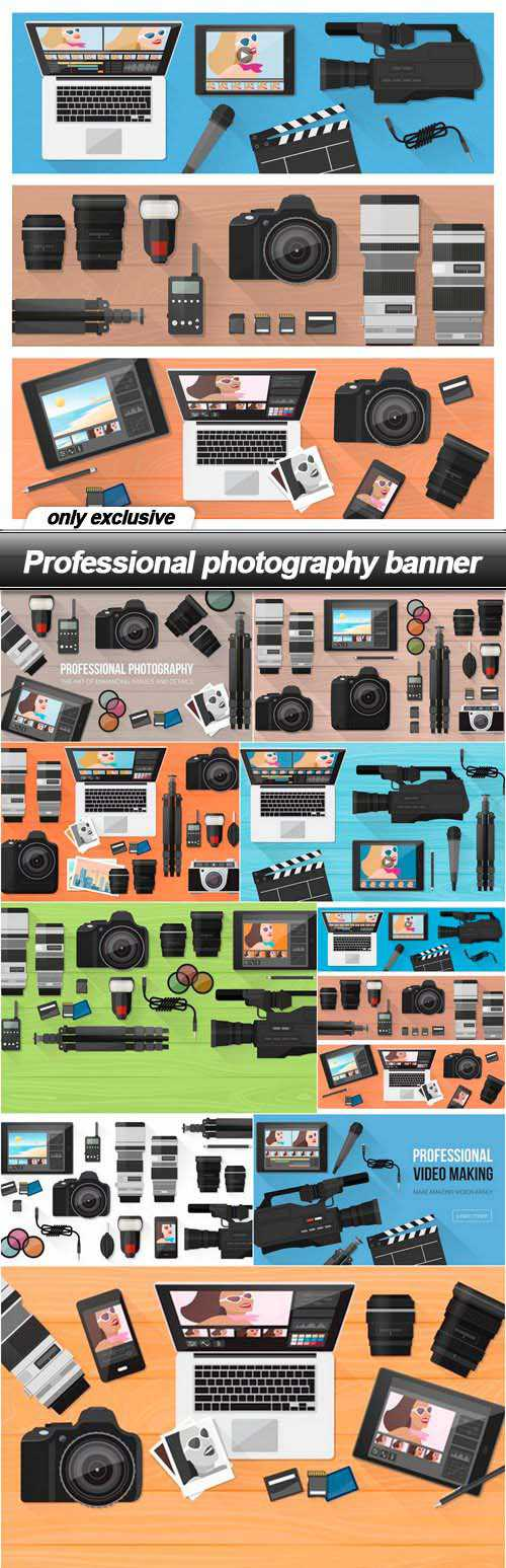 Professional photography banner 2